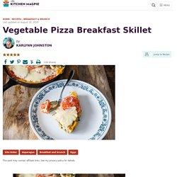 Vegetable Pizza Breakfast Skillet