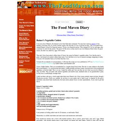 The Food Maven - Arthur Schwartz