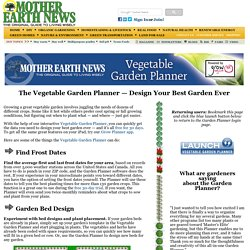 Vegetable Garden Planner — Design Your Best Garden Ever