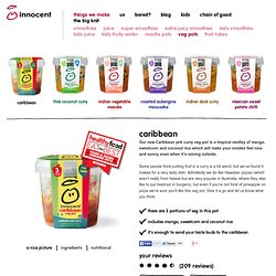 thai vegetable sweet chilli - innocent – 100% pure fruit smoothies, orange juice, kids smoothies and tasty veg pots
