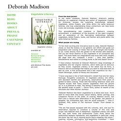 Vegetable Literacy « Deborah Madison