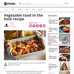 Veggie Toad in the Hole