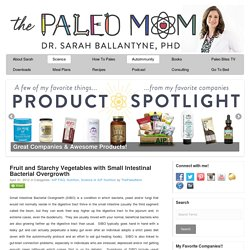 Fruit and Starchy Vegetables with Small Intestinal Bacterial Overgrowth - The Paleo Mom