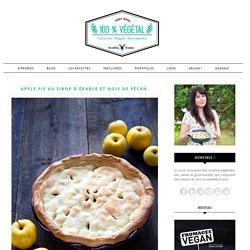 Apple pie au sirop d'érable et noix de pécan