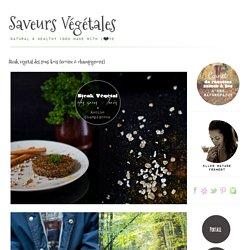 Steak végétal des sous-bois {avoine & champignons}