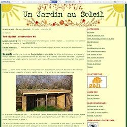 Toit végétal - construction #6 - Un jardin au soleil