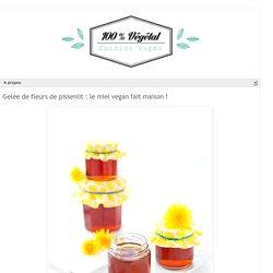 Gelée de fleurs de pissenlit : le miel vegan fait maison !