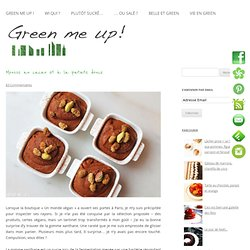 Mousse au cacao et à la patate douce