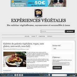 Galettes de polenta végétalien, vegan, sans gluten, sans oeufs, sans lait) - ...
