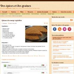 Gâteau à la courge végétalien - Recettes végétales et bio