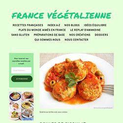 Boules de Picoulat (végétalien, vegan) — France végétalienne