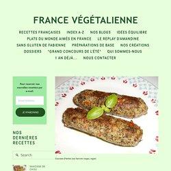 Saucisse d'herbes (végétalien, vegan) — France végétalienne