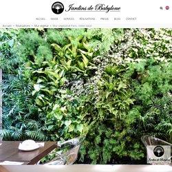 Mur végétalisé Paris : L'idéal Hôtel se part d'un mur végétal dans sa salle du petit déjeuné