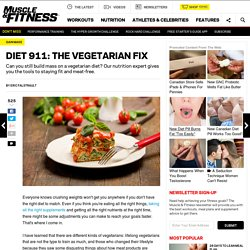 Vegetarian Bodybuilding Fix