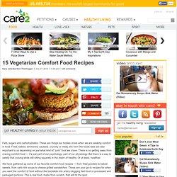 15 Vegetarian Comfort Food Recipes