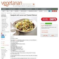 Vegetarian Italian Pasta