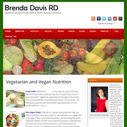 Vegetarian and Vegan Nutrition