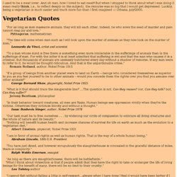 Argumentative essay for vegetarian