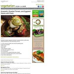 Vegetarian Recipe of the Week