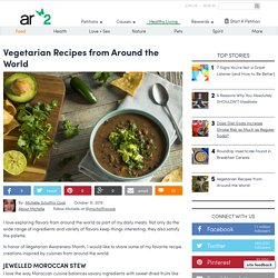Vegetarian Recipes From Around The World