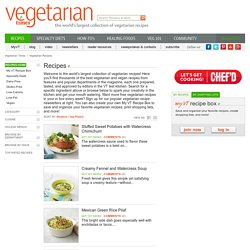 Vegetarian Recipes Search