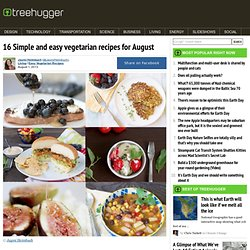 16 Simple and easy vegetarian recipes for August