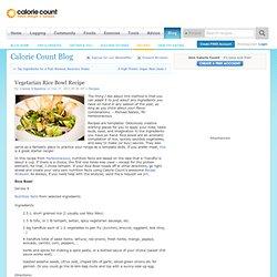 Vegetarian Rice Bowl Recipe