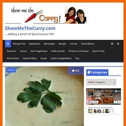 Indian Recipes, Cooking Videos, Healthy Recipes, Vegetarian Recipes, North and South Indian Recipies - ShowMeTheCurry.com