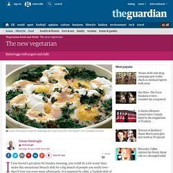 The new vegetarian Turkish-style baked eggs make a perfect brunch, says Yotam Ottolenghi