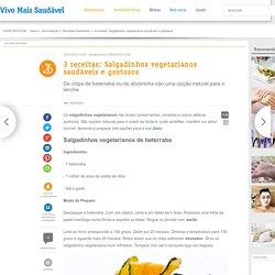 3 receitas de salgadinhos vegetarianos - vivomaissaudavel.com.br
