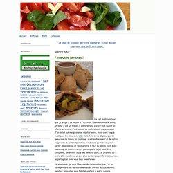 L'invité végétarien: Fameuses Samosas !