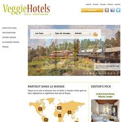 végétarien & végétalien chambres d'hôtes & hôtels