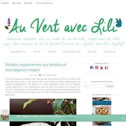 Rillettes végétariennes aux lentilles et champignons