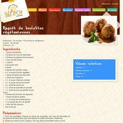 Ragoût de boulettes végétariennes - Cuisine collective Sherbrooke Le Blé d'or