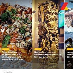 Tuto: lasagnes végétariennes aux champignons, tofu croustillant et ricotta
