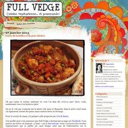Full vedge - Recettes végétariennes et gourmandes!