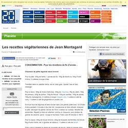 Les recettes végétariennes de Jean Montagard