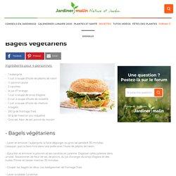 Bagels végétariens (aubergine, poivron, carotte, etc...)