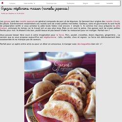 Gyozas végétariens maison (raviolis japonais)