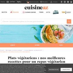 Plats végétariens : toutes nos idées pour un repas végétarien