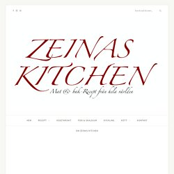 Vegetariska biffar- 8 olika recept - ZEINAS KITCHEN