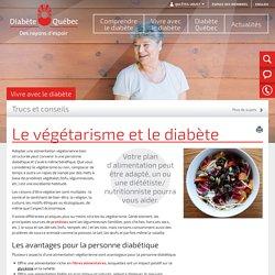 Le végétarisme et le diabète