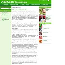 PETA France >> Campagnes en cours >> Végétarisme > L'élevage industriel, c'est l'enfer !