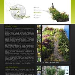Murs végétaux, mur vivant pour jardin en Ile de France