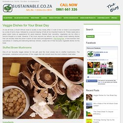 Veggie Dishes for Your Braai Day from The Flying Pan - Sustainable.co.za Blog