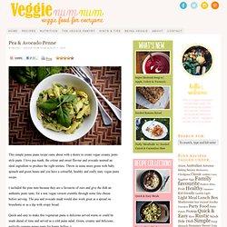 Pea & Avocado Penne