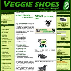 Vegan Versand VEGGIE >FOR YOU<