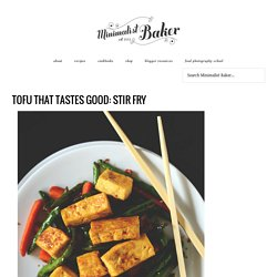 Veggie Tofu Stir Fry
