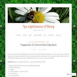 Veggiesteak #3 (haricot blanc&tofu fumé) – Les expériences d'Omry