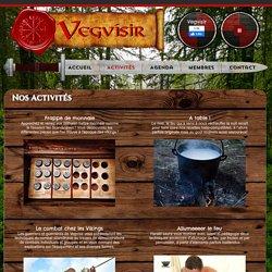 Vegvísir - Nos activités
